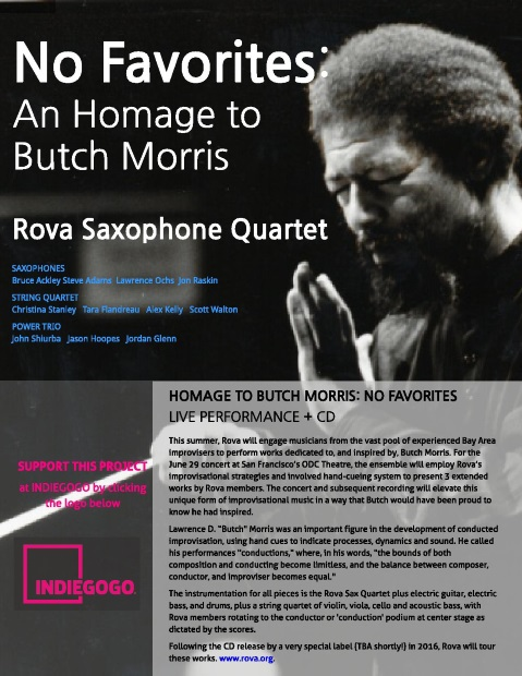 Rova Homage to Butch Morros - Click for Indiegogo campaign